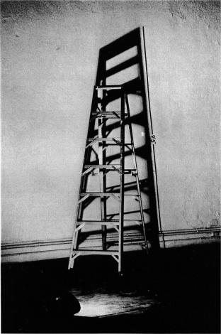 Mel Bochner, Measurement Series (1968) Light, Ladder, Shadow, Measurement.
