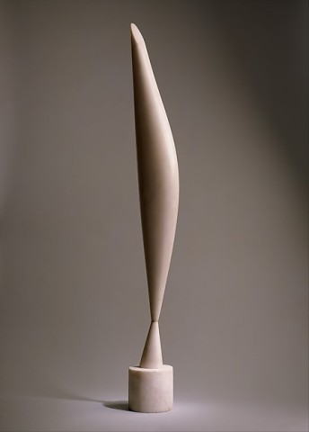 Constantin Brancusi, Bird in Space, 1923, Marble.